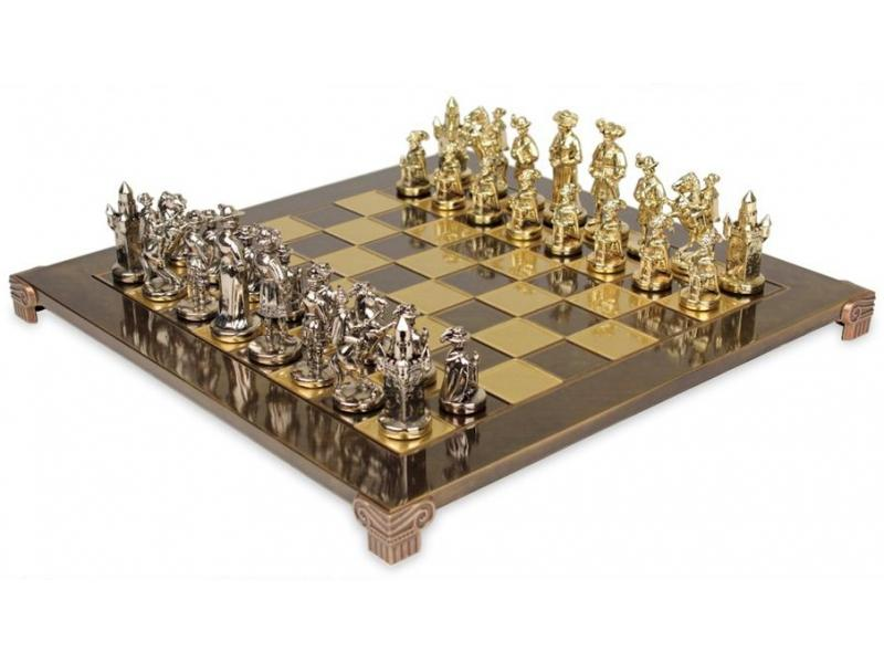 Unique Chess Set Medieval Knights