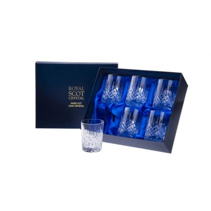 Picture Royal Scot Crystal Whisky Tumblers London 6 p.