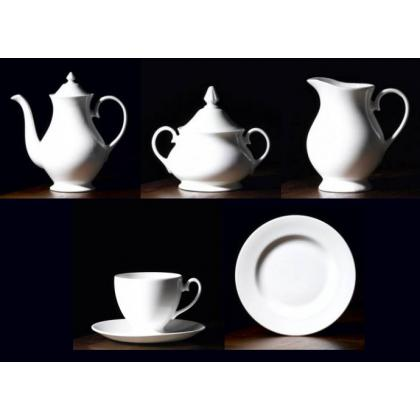 Picture Royal Buckingham Coffee Service Blanche for 6 Persons