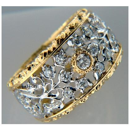 Picture Elegant ring made of gold