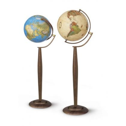 Picture Nova Rico Sylvia Antiqus 37 cm Illuminated Geographical Globe