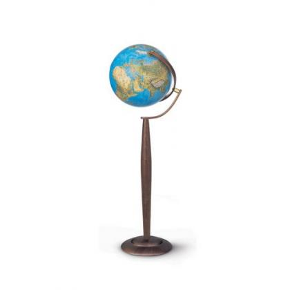 Picture Nova Rica Sylvia Blue 37 cm Iluminated Geographical Globe