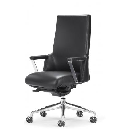 Picture Office chair made of leather XZ 7020 A