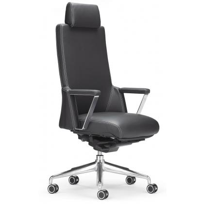 Picture Office chair made of leather XZ 7030 A