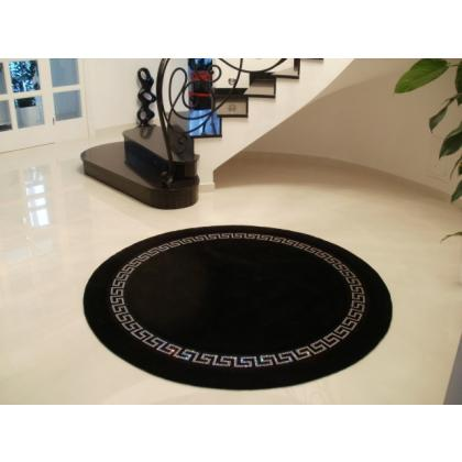 Picture Greek wheel - rug with Swarovski crystals diameter 175 cm / 200cm - Art Relief