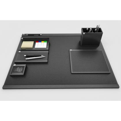 Picture Elegant desk set Cintano - genuine and imitation leather