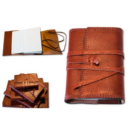 Picture Subtle leather notebook
