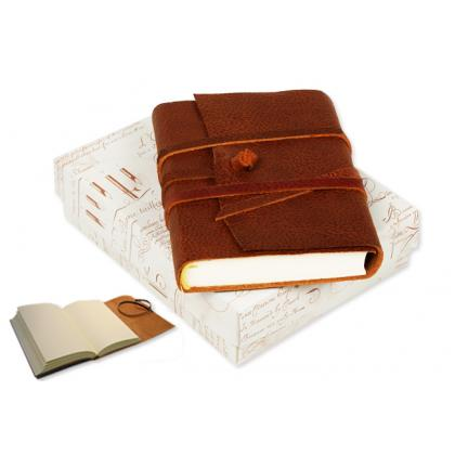 Picture Leather travel notebook