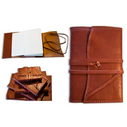 Picture Leather office notebook- a perfect gift with an engraving