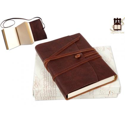 Picture Brown leather notebook