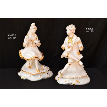 Picture Beautiful gold plated figurines