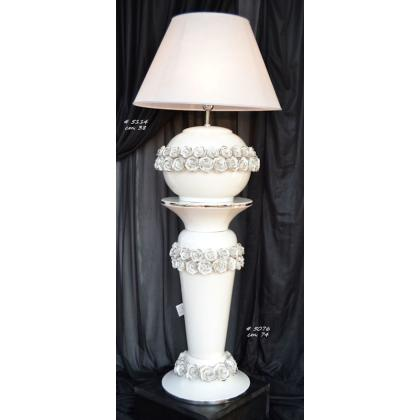 Picture Ceramic column for the living room / large decorative lamp