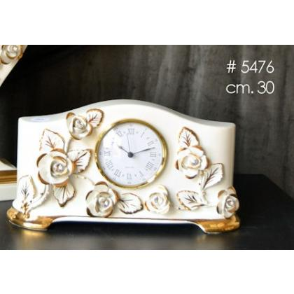 Picture Standing porcelain clock