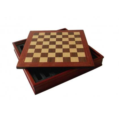 Picture Beautiful chessboard with a compartment for pieces B08943