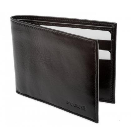 Picture Black leather wallet