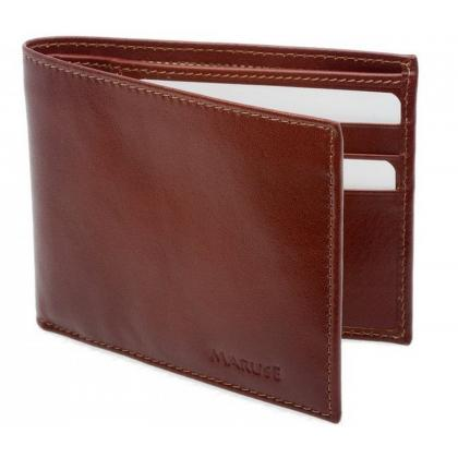 Picture Brown leather men gift wallet