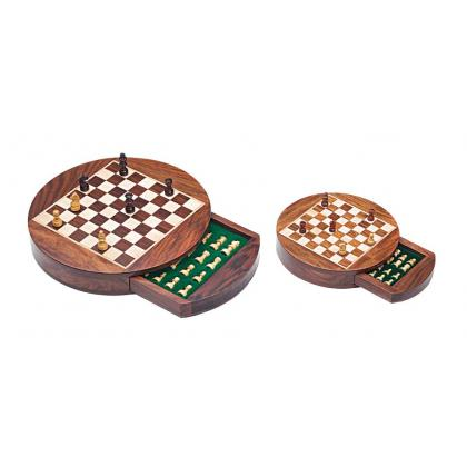 Picture Exclusive set of wooden magnetic chess G-1030