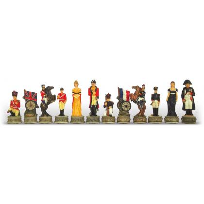 Picture Set of hand-painted chess – Battle of Waterloo