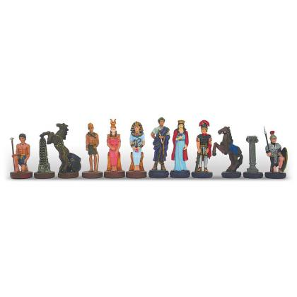 Picture Chess set – Romans and Egyptians, smaller version