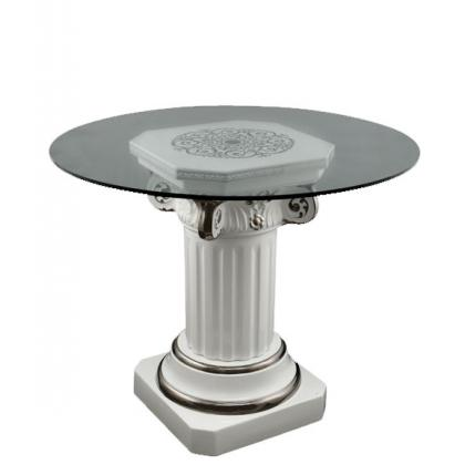Picture Luxurious table with crystal top