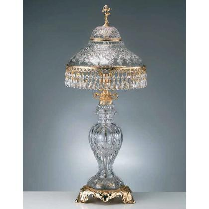 Picture Beautiful gold plated table lamp