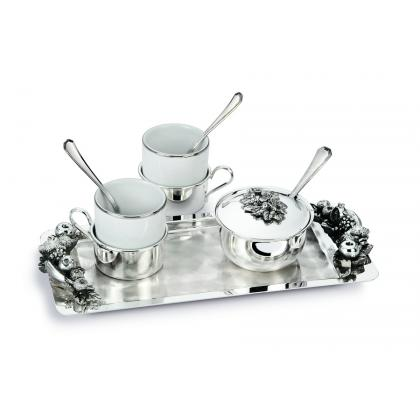 Picture Beautiful, silver coffee set