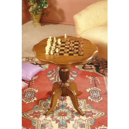Picture Exclusive chess table complete with pieces