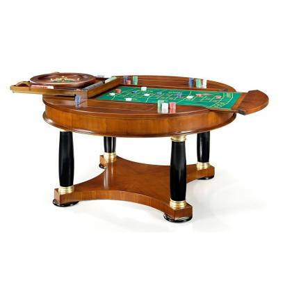 Picture Multifunctional exclusive table for games – chess – blackjack – backgammon – roulette – rummy