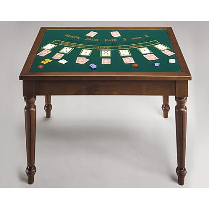 Picture Classic table for lovers of chess, cards, roulette, backgammon and blackjack