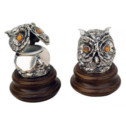 Picture Unique owl inkwell