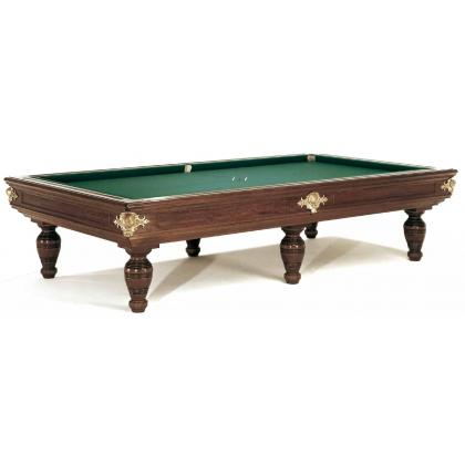 Picture Luxurious Centenario billiard table made of walnut and cherry wood