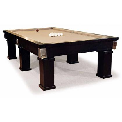 Picture Elegant, wooden billiard table