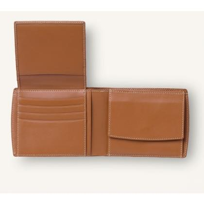 Picture Epsom vertical wallet with a flap