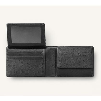 Picture Leather Saffiano wallet, horizontal