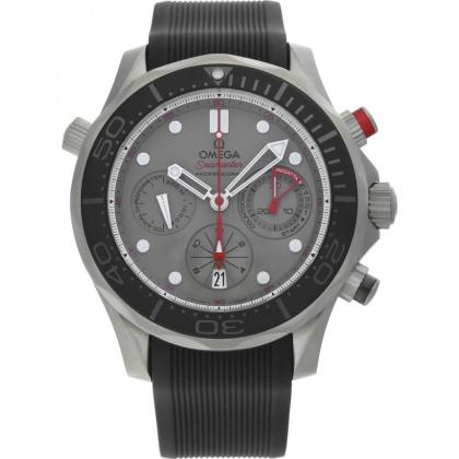 Picture Stylish Swiss Seamaster Chrono Diver Men's Watch