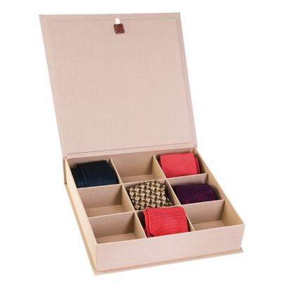 Picture A beautiful leather tie box - for a gift! - Absolute Breton