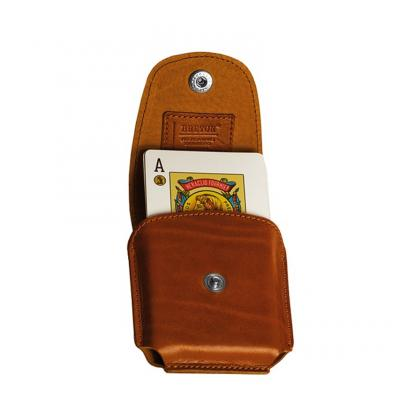 Picture Spanish deck of cards - leather case - Absolute Breton