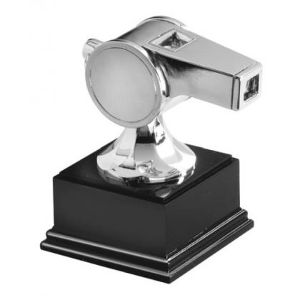 Picture Statuette - referee whistle - Astra Argenti