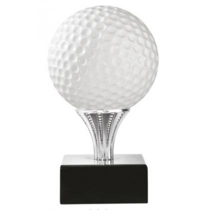 Picture Golf ball shaped figure - Astra Argenti