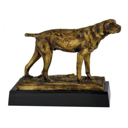 Picture Statuette with the image of a dog - Astra Argenti