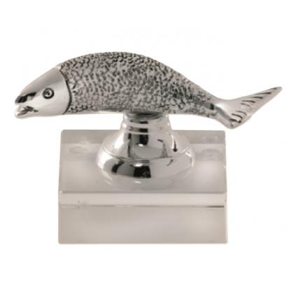 Picture Figurine with fish - Astra Argenti