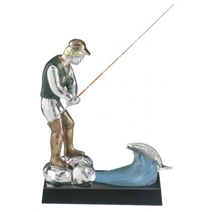 Picture Figurine for the angler - Astra Argenti