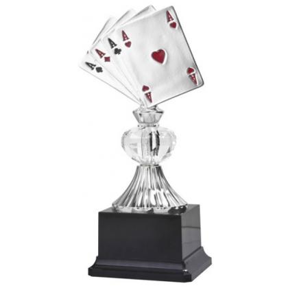 Picture Trophy for the card tournament - Astra Argenti