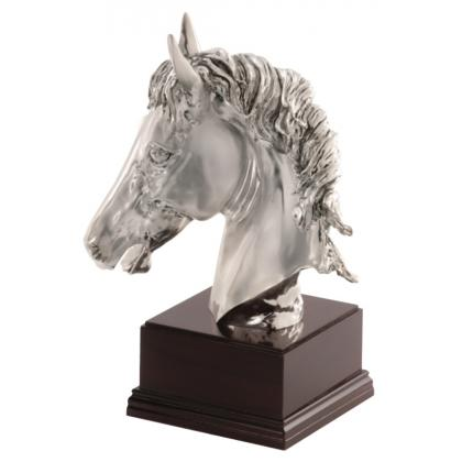 Picture Straight from Italy statuette with a horse - Astra Argenti