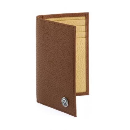 Picture Luxurious card wallet in four colors by Rapport London