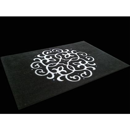 Picture Designers 3D carpet with Swarovski crystals by Art Relief