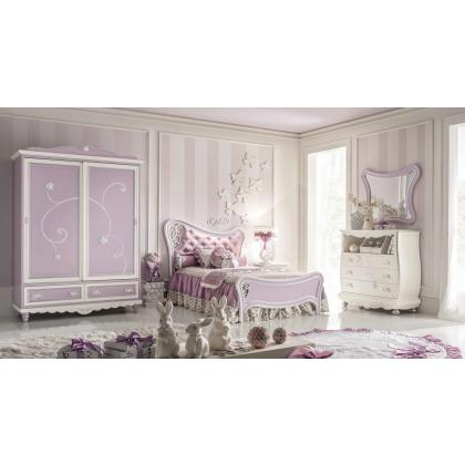 Picture Luxurious bedroom for girls Ebanisteria Bacci