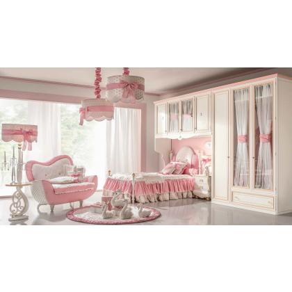 Picture Pink stylish bedroom and room for girls
