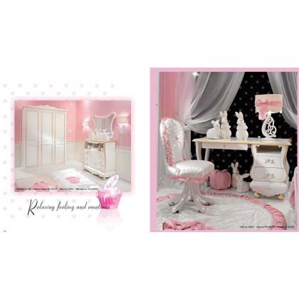 Picture Exclusive furniture set for girls - Ebanisteria Bacci