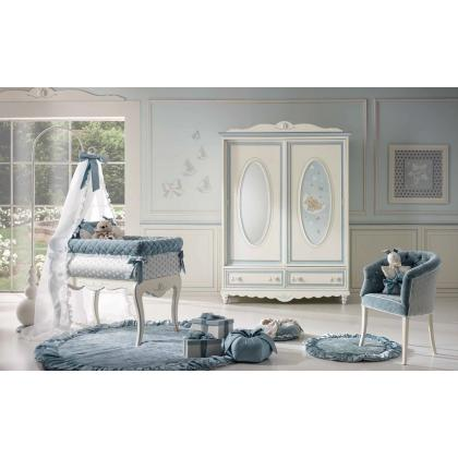 Picture Luxurious blue room for an infant - Ebanisteria Bacci